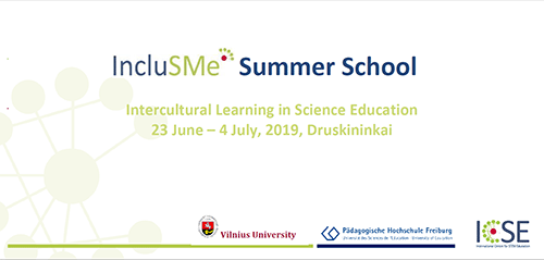 IncluSMe Summer School Flyer 2019